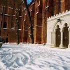 Katedra w zimie